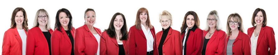 Meet our Red Coat Ladies